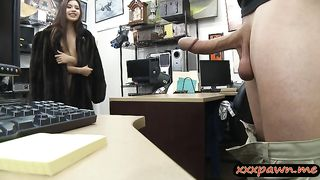 Lovely amateur brunette babe screwed at the pawnshop--_short_preview.mp4