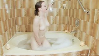 Shower time with a beautiful brunette--_short_preview.mp4