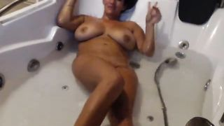 Sexy curvy slut with big juicy tits is masturbating in the bathtub on cam--_short_preview.mp4