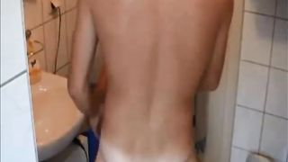 Nice lovely brunette GF of my buddy gives him head before being poked--_short_preview.mp4