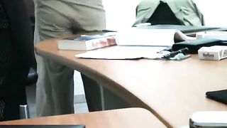 Slutty milf office lady spreads her legs on the table--_short_preview.mp4