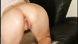 Wet cavernous cunt of wife handles wine bottle and double fisting--_short_preview.mp4