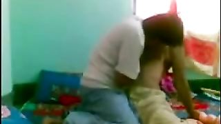 Horny and lascivious dark skin Indian girlfriend having sex in the morning--_short_preview.mp4