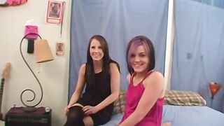 Two cute amateur lesbians first time together--_short_preview.mp4