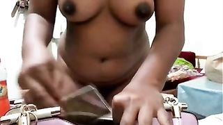 Kinky a bit plump Bangladeshi brunette MILF shows off her big titties--_short_preview.mp4