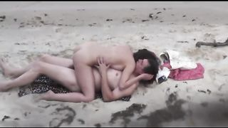 My buddy peeks on amateur couple fucking outdoors on the beach--_short_preview.mp4