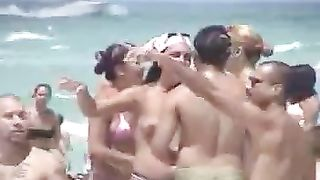 Nice voyeur video of delicious breasts and boobies tanning on the beach--_short_preview.mp4