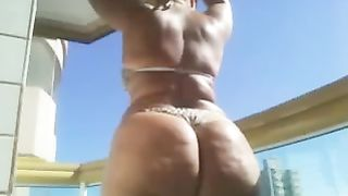 This tanned chick is pretty fat, but I would tickle her pussy a bit--_short_preview.mp4