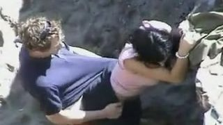 Compilation clip with amateur couples making love on a beach--_short_preview.mp4
