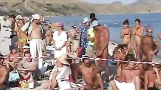 Nice nude dance party right on the beach with a sinful blonde hottie--_short_preview.mp4
