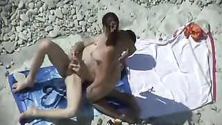 Spying on horny lovely couple having passionate sex on the beach--_short_preview.mp4