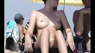 Stunning shiny smooth milf on the nnude beach captivating--_short_preview.mp4