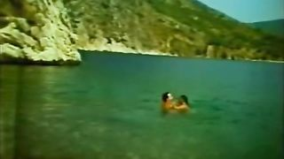 Busty hot white babe with her skinny man on the beach--_short_preview.mp4