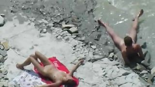A horny young couple on the nude beach having sexy time--_short_preview.mp4