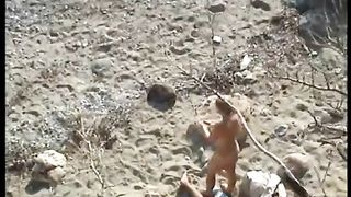 Caring Greek girl is pleasing her man on a nude beach--_short_preview.mp4