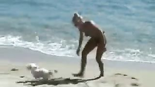 I taped two whorish mature women on the nudist beach--_short_preview.mp4