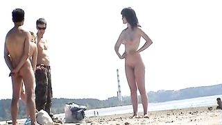 Some really beautiful amateur women on the nudist beach looking impressive--_short_preview.mp4