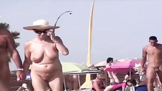 Nudist beach on the French coast with sexy busty milfs--_short_preview.mp4
