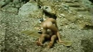 Light haired hot tramp attacked long dick of freaky dude right on stone riverbank--_short_preview.mp4