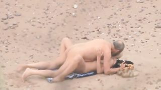 Mature grey haired chubby dude was fucking his blonde wife on the beach--_short_preview.mp4