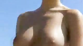 Polish blonde college chick with huge tits gets naked on the beach--_short_preview.mp4