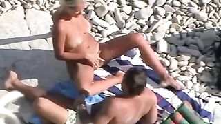 Mature couple on the nudist beach was spied and filmed by me--_short_preview.mp4
