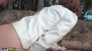 Beautiful girl bends over for her boyfriend on the beach--_short_preview.mp4