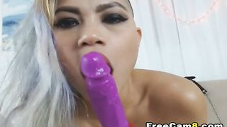 Huge Fake Tits Asian Squirts on Playing her Pussy--_short_preview.mp4