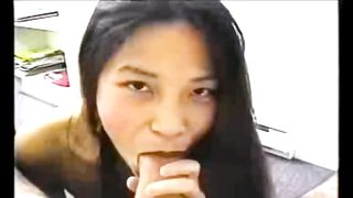 Dark haired charming Asian girl was fingered while sucking strong cock--_short_preview.mp4
