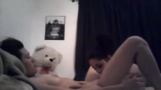 Amateur exotic brunette lesbians on webcam doing it softcore--_short_preview.mp4