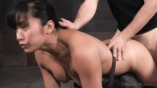 Cute Asian sexy girl exposes her mouth and booty for BDSM--_short_preview.mp4