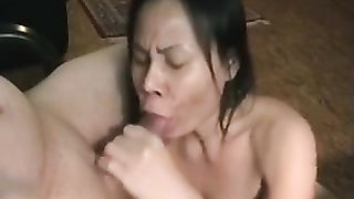 Mature quite pretty Asian whorable lady sucks her own hubby's strong cock--_short_preview.mp4