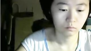 Asian serious or even dull looking webcam Asian whore exposed her tits--_short_preview.mp4