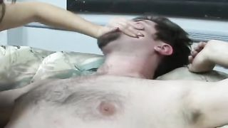 Plump mommy with big boobs gets her snatch polished while sitting on dude's face--_short_preview.mp4