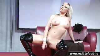 Busty blonde Katrina spreading in public--_short_preview.mp4