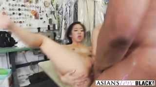 A slutty Asian tailor gets double penetrated by two horny black studs--_short_preview.mp4