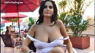 Busty hot wife is flashing big natural boobs round ass and wet cunt in public--_short_preview.mp4