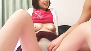 Busty and elegant Japanese slut flashes her breasts and panties--_short_preview.mp4